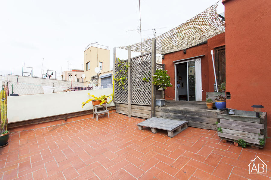 AB Molas Apartment - Lovely studio apartment with a terrace close to Las Ramblas - AB Apartment Barcelona