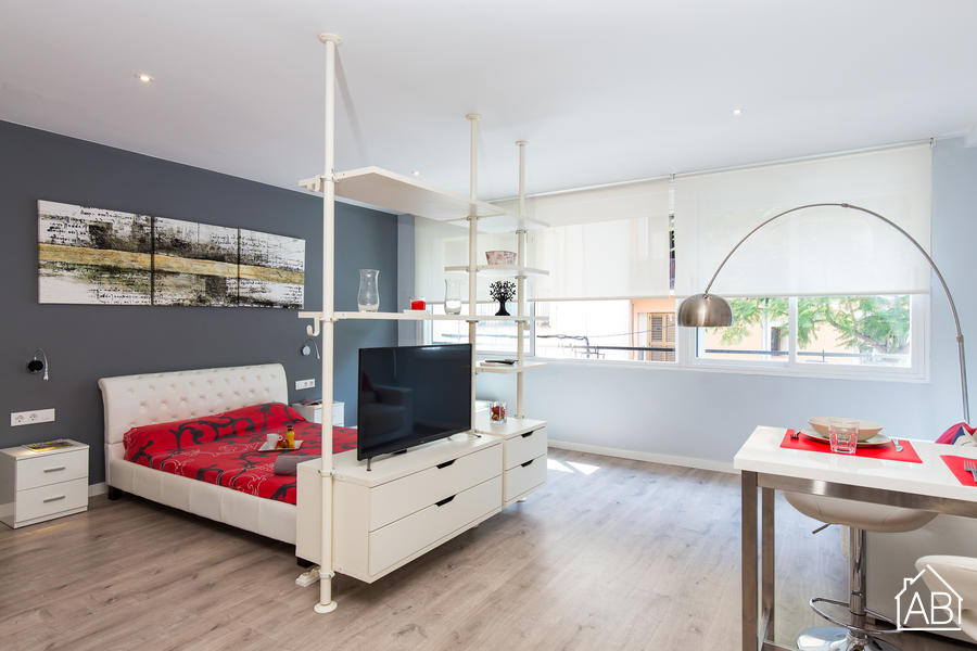 AB Beach Poble Nou - Modern two-bedroom apartment in the heart of quirky Poblenou neighbourhoodAB Apartment Barcelona -