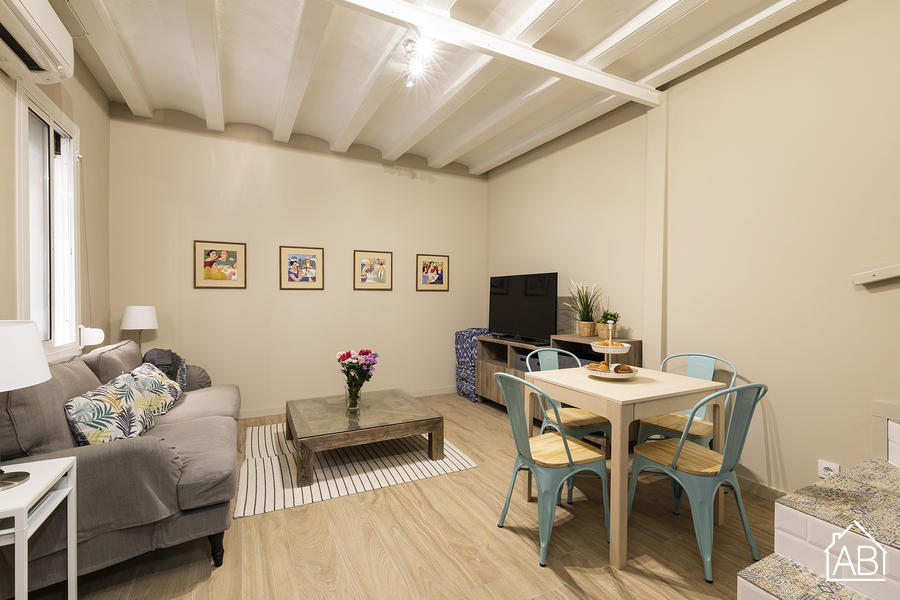 AB Barceloneta Mariners Mini House - Beautiful Two-Bedroom Mini House in the Heart of the Barceloneta Neighbourhood - AB Apartment Barcelona
