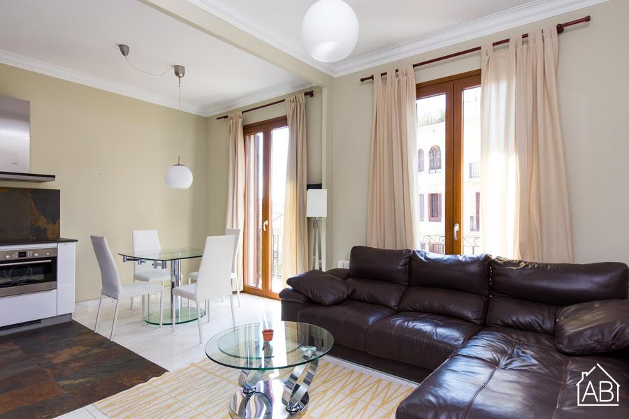 AB Centric Casanova - Moderno e Stiloso Appartamento con 3 Camere e ottimi Collegamenti con Trasporti Pubblici - AB Apartment Barcelona