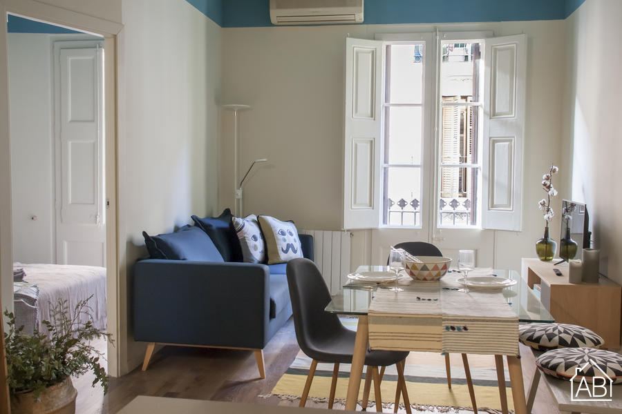 Stylish Airy Home, Green Oasis & Gastronomic Area -  Stilvolles luftiges Zuhause, grüne Oase & Gastro Gegend - AB Apartment Barcelona
