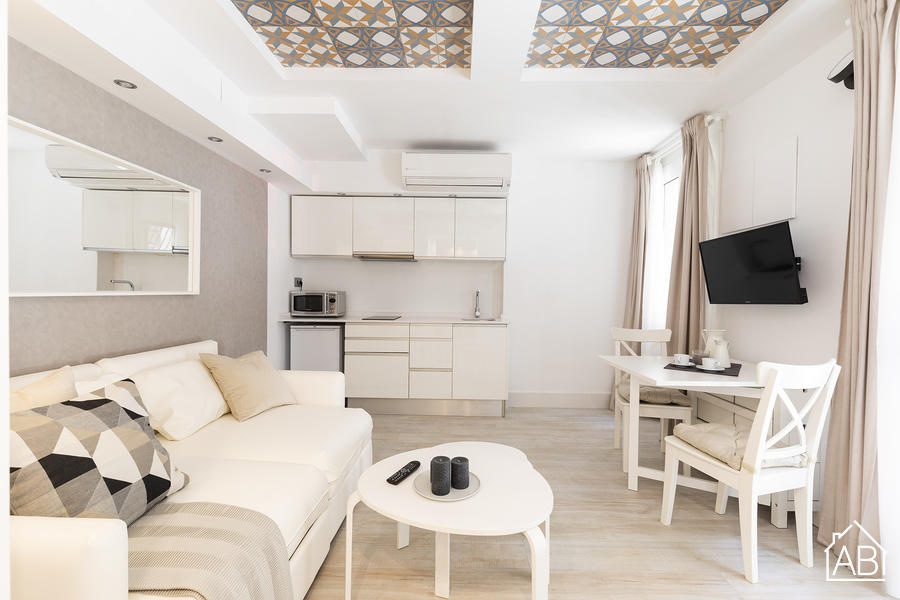 AB Barceloneta Fisherman III - Stylish and Comfortable One-Bedroom Apartment Just Two Minutes from Beach - AB Apartment Barcelona