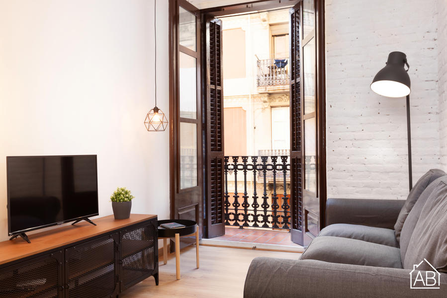 Barceloneta Pizarro - Chic And Spacious Two-Bedroom Apartment Just Minutes From The Nearest Metro Station - AB Apartment Barcelona