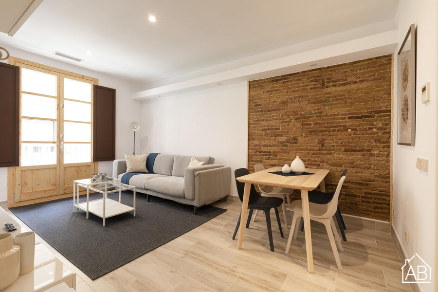 AB Mercat de Sant Antoni V - Welcoming three bedroom apartment close to the centre of Barcelona - AB Apartment Barcelona