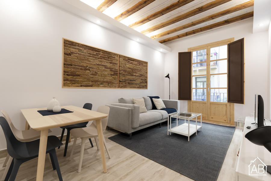 AB Mercat de Sant Antoni VI - 位于扩展区与拉瓦尔区之间的温馨公寓 - AB Apartment Barcelona