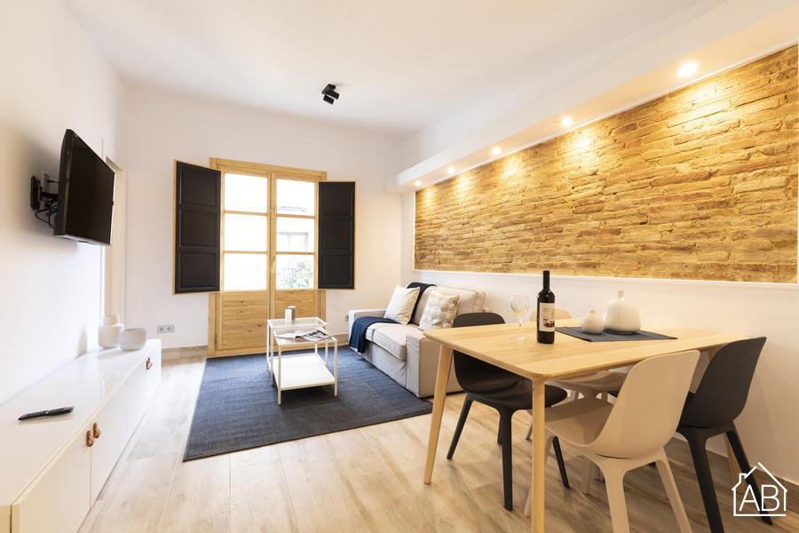 AB Mercat de Sant Antoni XI - Сенсационная квартира с тремя спальнями между районом Эшампле и Эль-Раваль - AB Apartment Barcelona