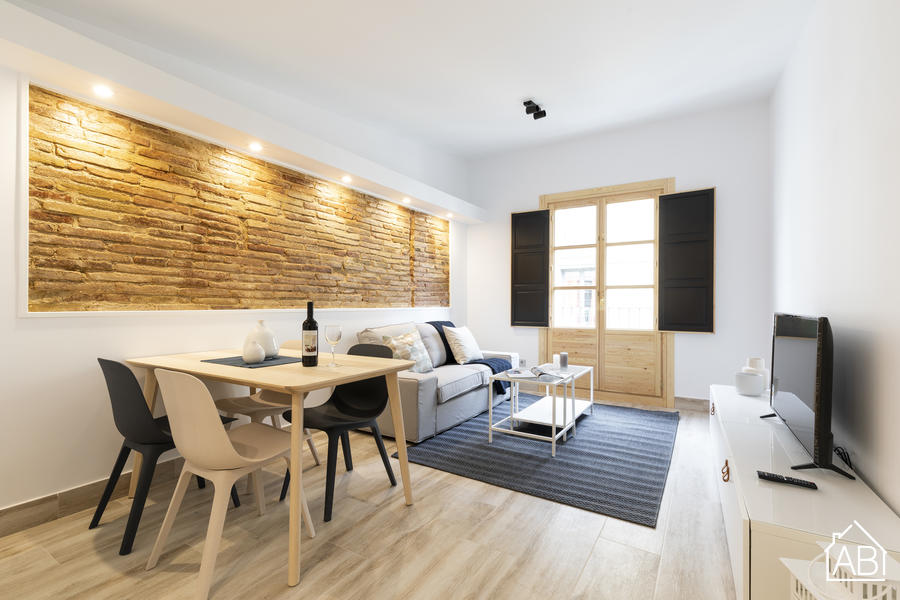 AB Mercat de Sant Antoni XII - Потрясающая квартира с двумя  спальнями между районом Эшампле и Эль-Раваль - AB Apartment Barcelona