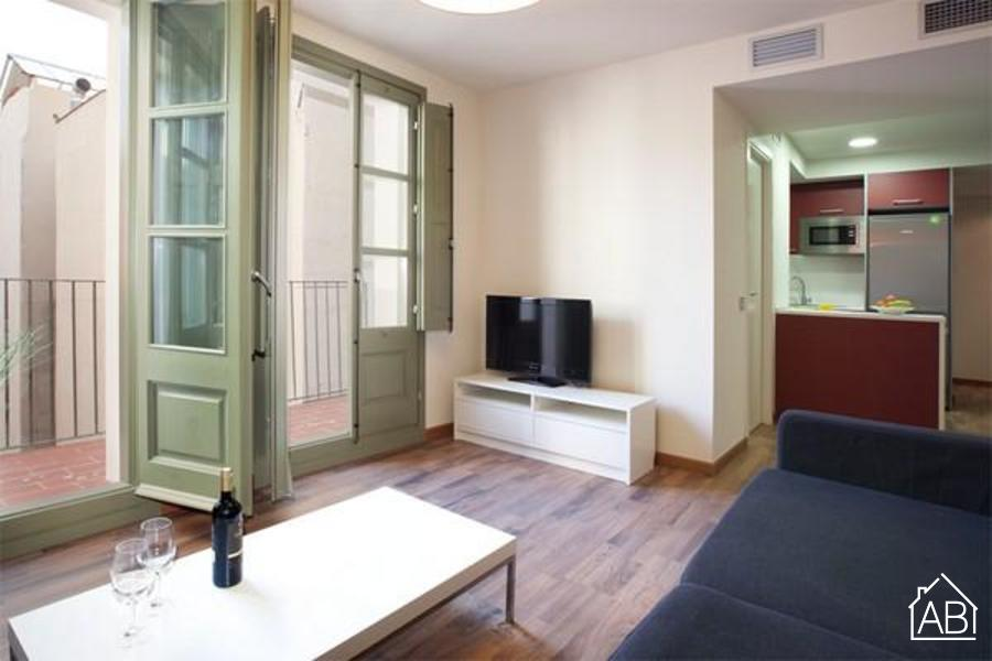 AB Nou de Sant Francesc VI - Comfortable apartment in Gothic Quarter with its own balcony - AB Apartment Barcelona