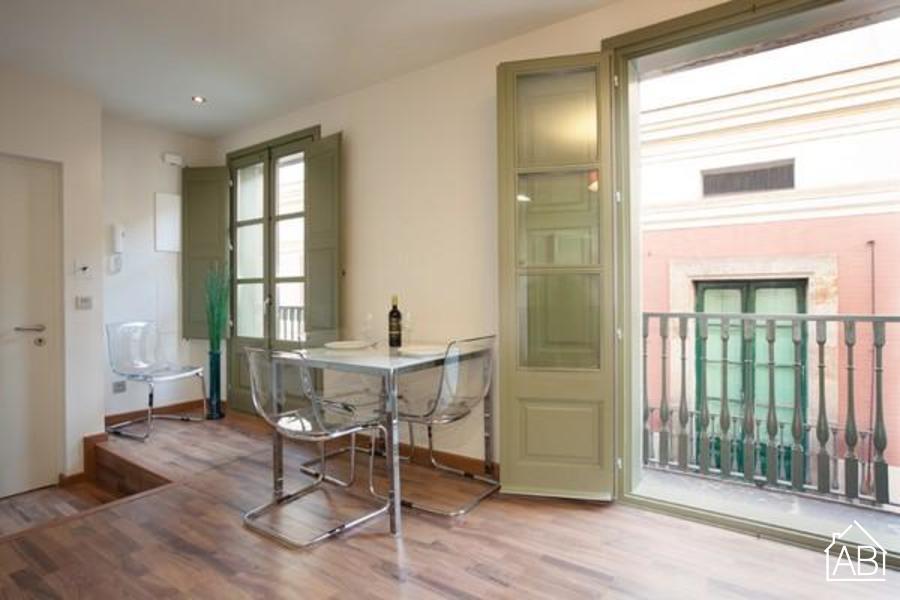 AB Nou de Sant Francesc I - Moderno apartamento de un dormitorio con balcón en el Barrio Gótico - AB Apartment Barcelona