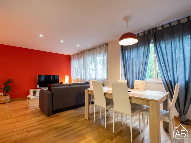 Sant Pau Maragall - Apartamento Contemporáneo de dos Dormitorios cerca de Sant Pau - AB Apartment Barcelona