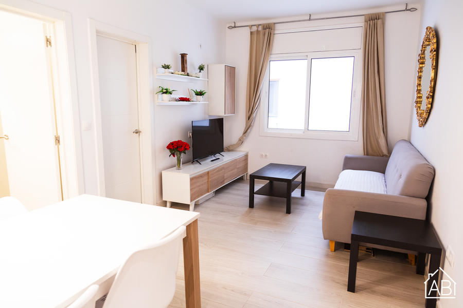 Gran Via White - Spacious four-bedroom apartment in Eixample - AB Apartment Barcelona