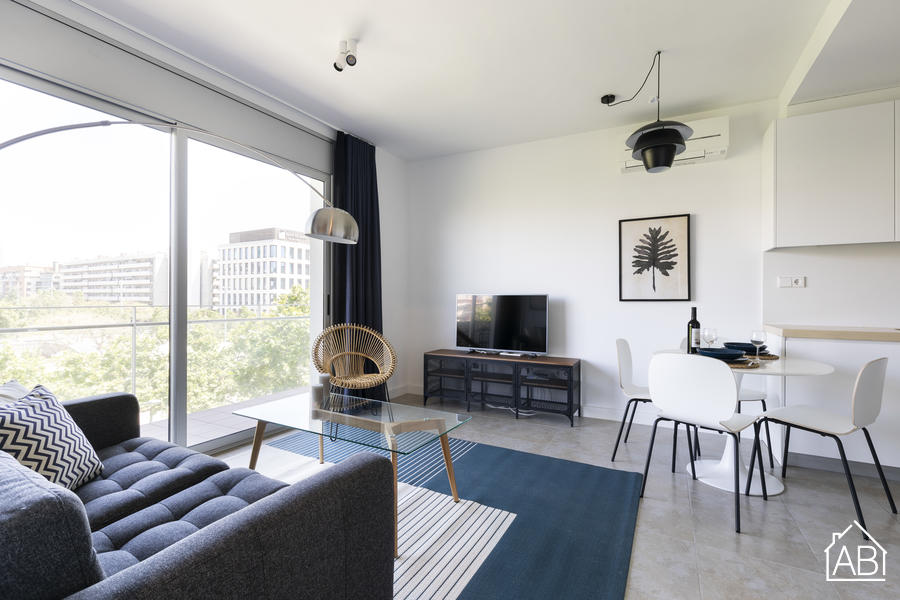AB Beach Poble Nou - Stylish and Homely One-Bedroom Apartment with Balcony in PoblenouAB Apartment Barcelona -
