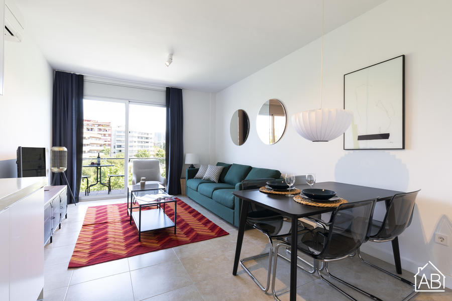 AB Beach Poble Nou - Stylish and Homely Two-Bedroom Apartment with Balcony in Poblenou Neighbourhood - AB Apartment Barcelona