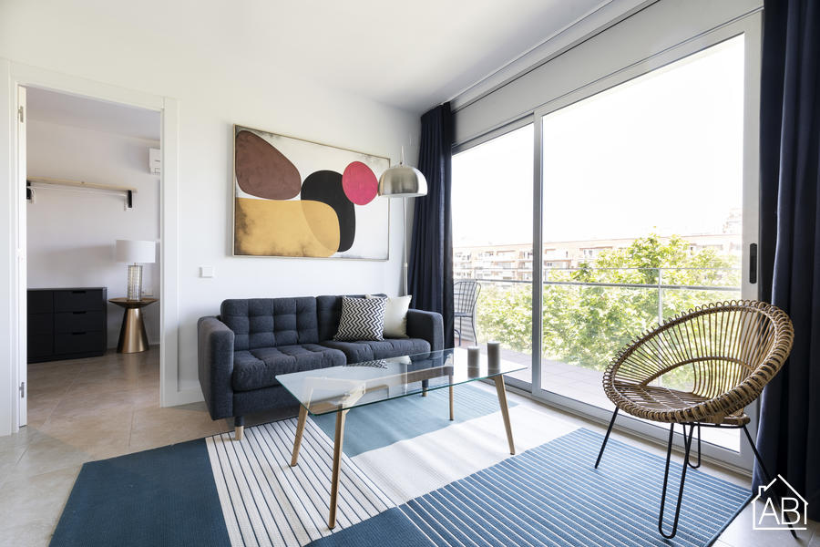 AB Beach Poble Nou - Stylish and Homely One-Bedroom Apartment with Balcony in Poblenou - AB Apartment Barcelona
