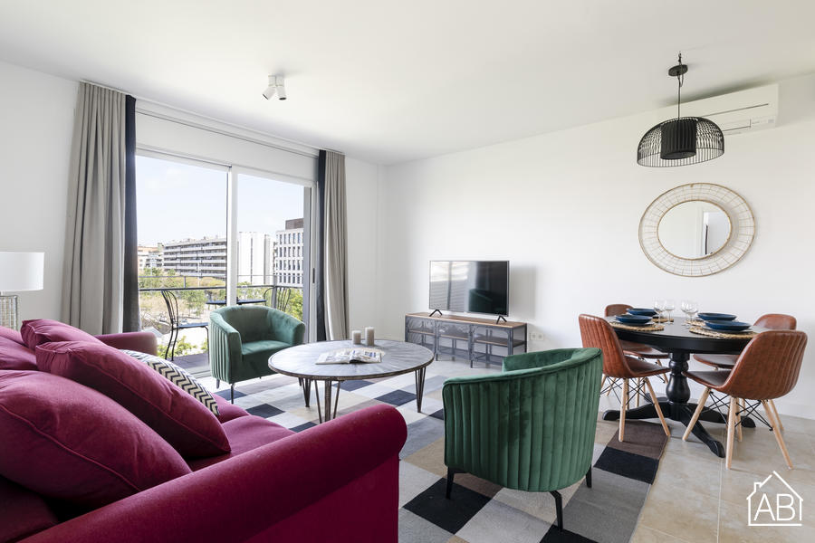 AB Beach Poble Nou - Gorgeous Three-Bedroom Apartment with Balcony in Poblenou District - AB Apartment Barcelona