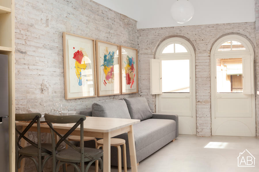 Cortines 2 - Contemporary and Cosy Apartment in Heart of El Born District - AB Apartment Barcelona