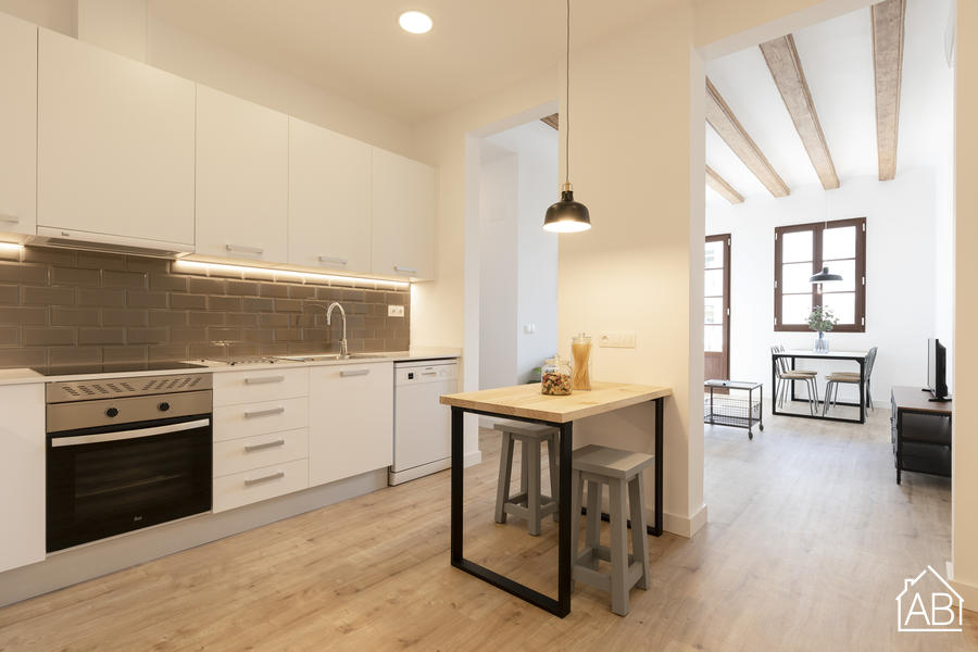 AB Joaquim Costa - Gorgeous Two Bedroom Apartment in El Raval Next to MACBA MuseumAB Apartment Barcelona -