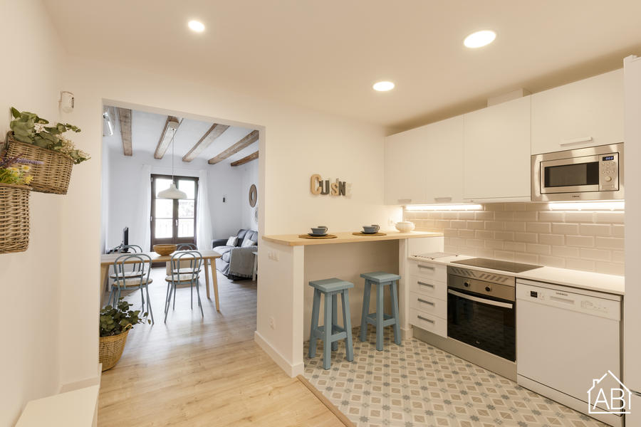 AB Joaquim Costa - Gorgeous Three Bedroom Apartment in El Raval Next to MACBA MuseumAB Apartment Barcelona -