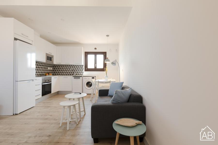 AB Joaquim Costa Penthouse TWO - Modernes und stilvolles 1-Schlafzimmer-Penthouse-Apartment in El Raval - AB Apartment Barcelona