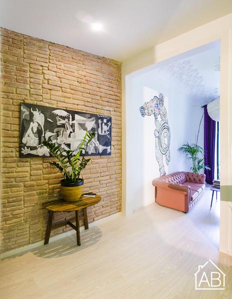 AB Eixample Esquerra Aribau I - Contemporary One-Bedroom Apartment with Balcony in EixampleAB Apartment Barcelona -