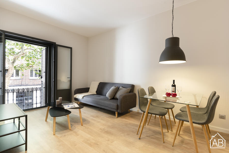 AB CENTRIC GRACIA - Contemporary Two-Bedroom Apartment with Balcony in Heart of Gracia Neighbourhood - AB Apartment Barcelona