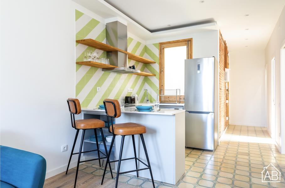 AB Eixample Monumental IV - Precioso apartamento de dos dormitorios en Eixample totalmente reformado  - AB Apartment Barcelona