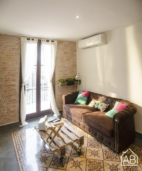 AB Eixample Esquerra Aribau III - Bright and spacious two-bedroom apartment with balcony in Eixample - AB Apartment Barcelona