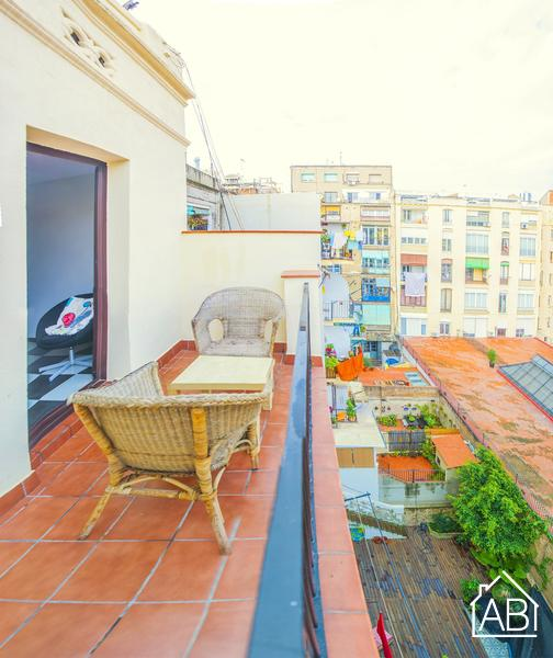 AB Eixample Esquerra Aribau IV - Luminous two-bedroom apartment with a balcony in Eixample. - AB Apartment Barcelona
