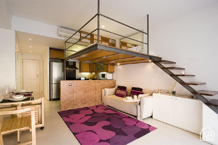 Reina Amalia - Stylish one bedroom apartment in Sant Antoni - AB Apartment Barcelona