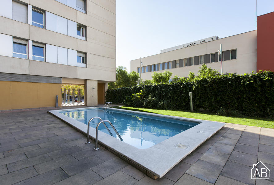 AB Forum Mar Apartment - Modernes Apartment mit drei Schlafzimmer und Pool bei Diagonal Mar - AB Apartment Barcelona