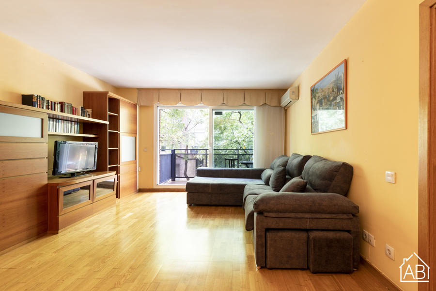Sagrera Palou - Brights and spacious 3-bedroom apartment near Sant Andreu - AB Apartment Barcelona