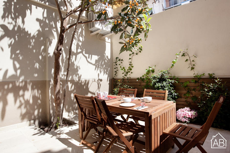 AB Venero Terrace - Modern two-bedroom apartment with private terrace in Poble Nou - AB Apartment Barcelona