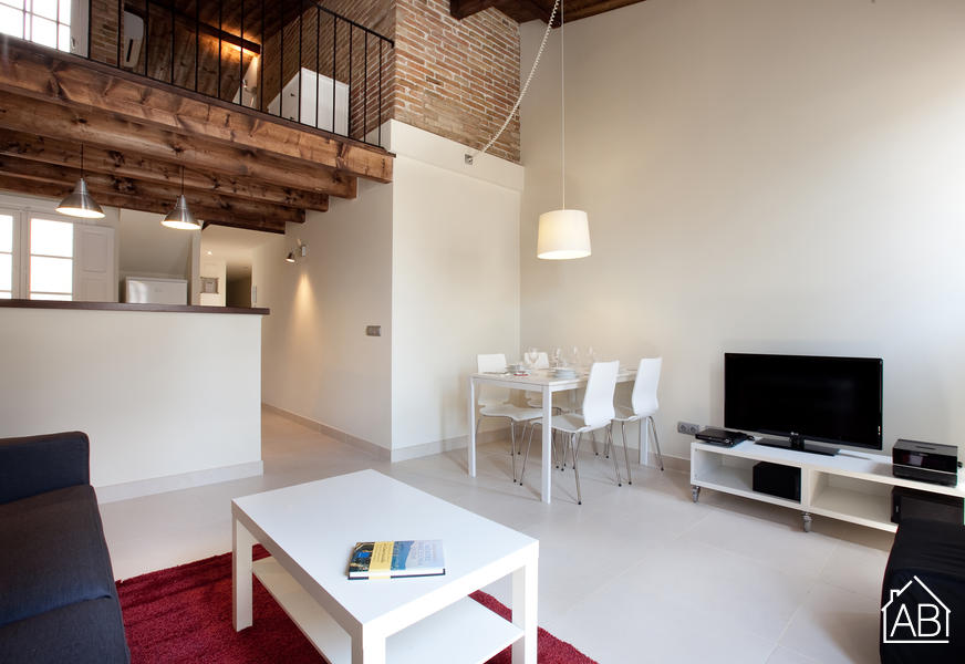 AB Venero Duplex - Premium Duplex appartement in Poble Nou voor zes personen  - AB Apartment Barcelona