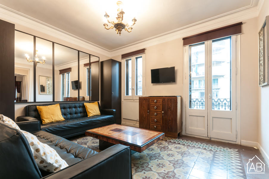 EIXAMPLE 3 - Welcoming one bedroom apartment in the heart of EixampleAB Apartment Barcelona -
