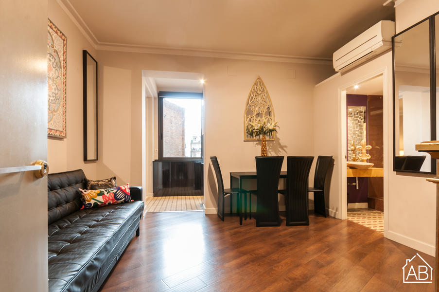 EIXAMPLE 1 - Stylish two bedroom apartment in Eixample - AB Apartment Barcelona