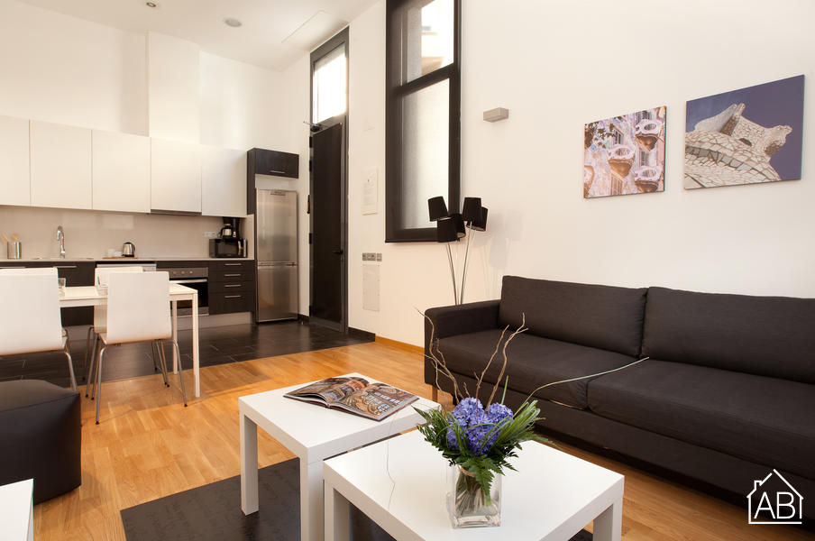 AB Gracia 2 bedrooms - Moderno Apartamento de Dos Habitaciones en Gràcia - AB Apartment Barcelona