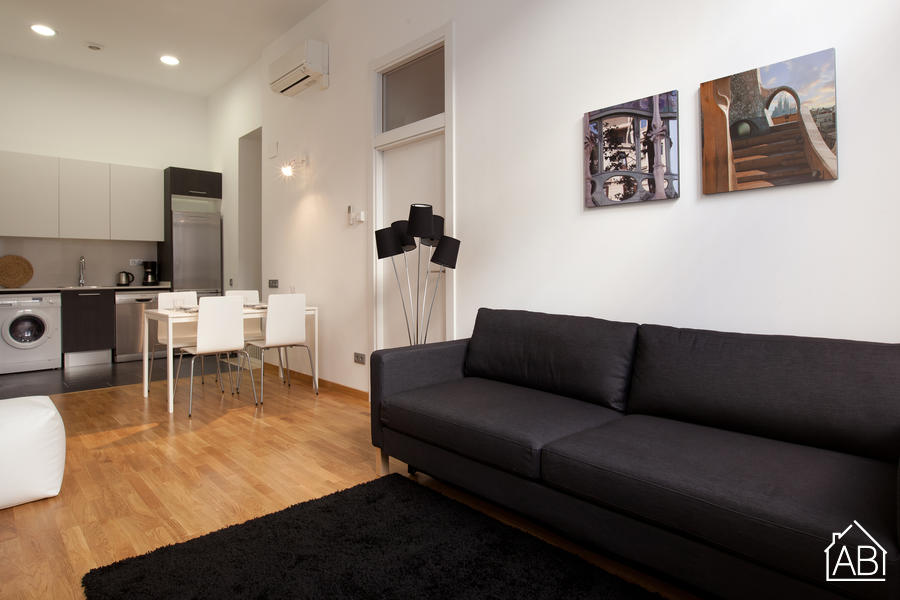 AB Gracia Sant Salvador - Geräumiges und helles Ein-Zimmer-Apartment in Gràcia - AB Apartment Barcelona