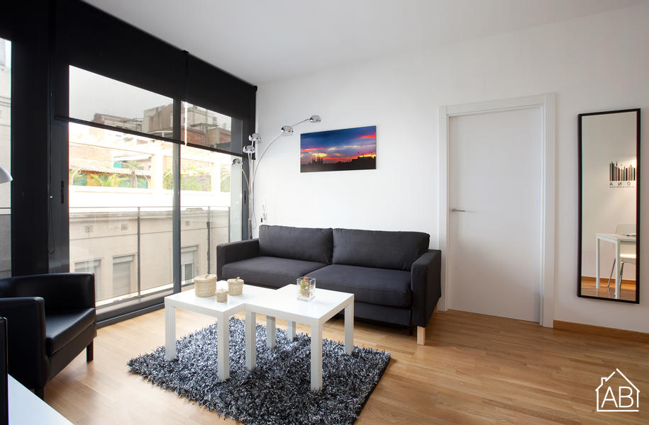 AB Gracia with Balcony - Spacious and modern apartment with balcony in Gràcia - AB Apartment Barcelona