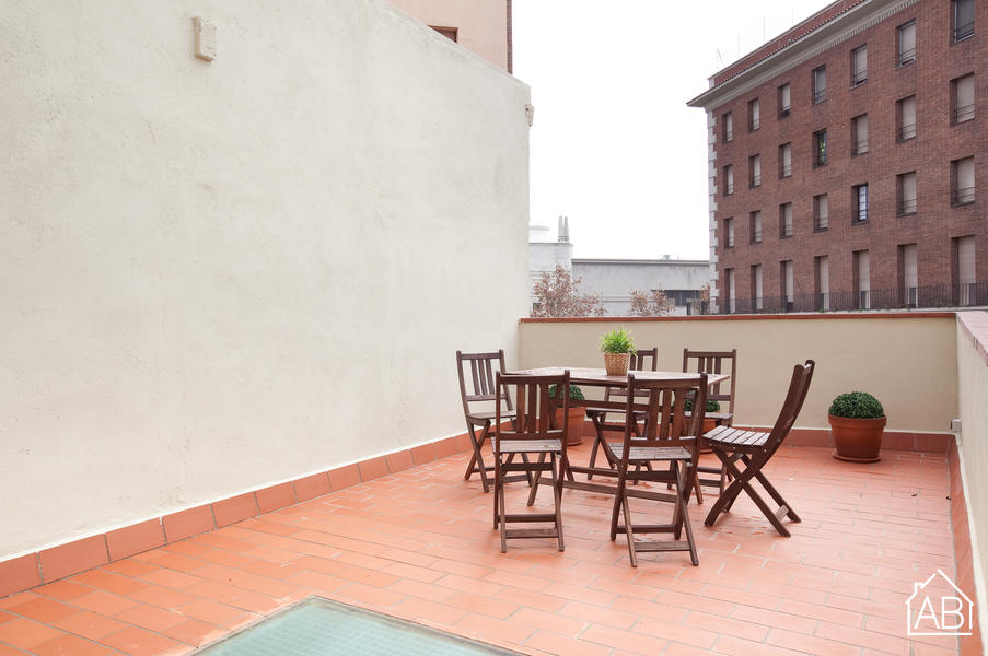 AB Montjuic Terrace - Modern three bedroom apartment next to Plaza Espanya with private terrace - AB Apartment Barcelona