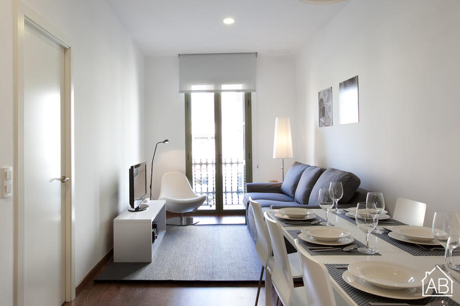 AB Montjuic 2º - Spacious and bright three bedroom apartment next to Plaza Espanya - AB Apartment Barcelona