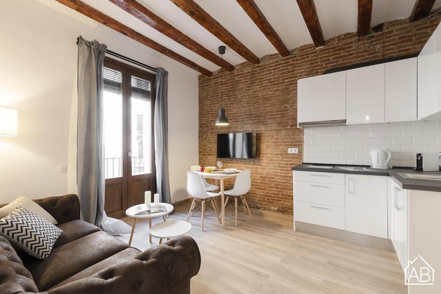 AB CENTRIC APARTMENTS VII - Céntrico apartamento de dos dormitorios cerca del mercado de la Boqueria - AB Apartment Barcelona