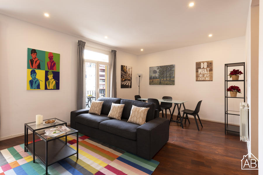 AB Napols - Spacious and comfortable two-bedroom apartment near Sagrada FamiliaAB Apartment Barcelona -