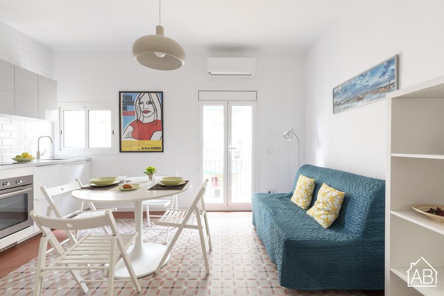 AB Sea Barceloneta - 巴塞罗内塔海滩现代化一室公寓 - AB Apartment Barcelona