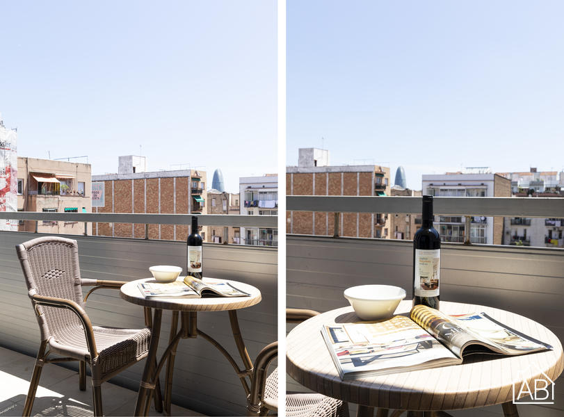 AB Sagrada Familia Premium V-II - Contemporary 2-bedroom apartment 5 minutes from Sagrada Familia with private balcony - AB Apartment Barcelona
