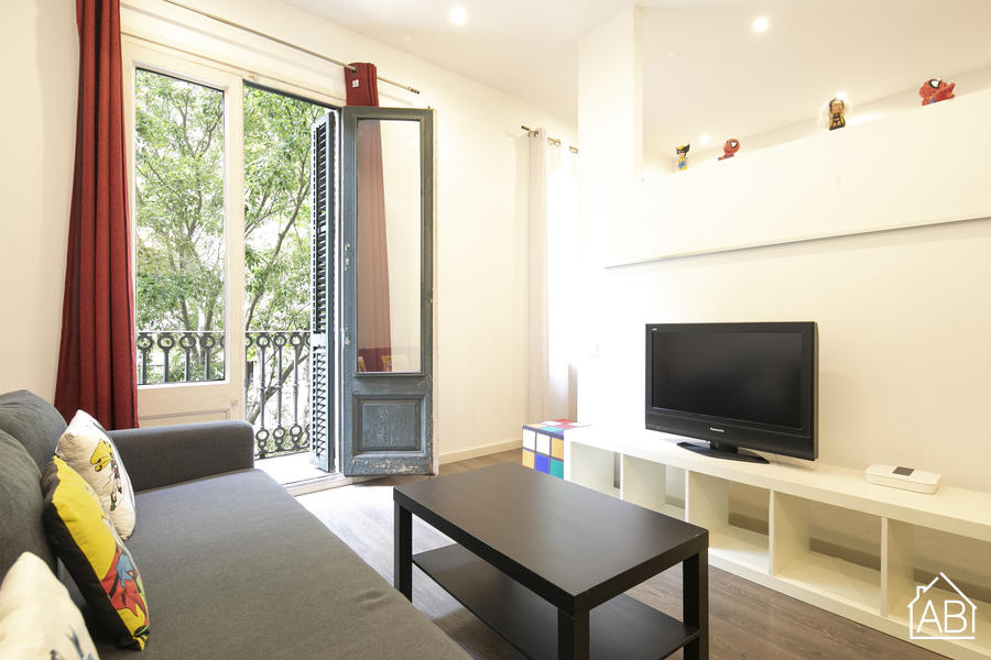 AB City Center Catalunya - Central one-bedroom apartment with two balconies - AB Apartment Barcelona