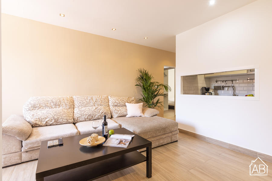 AB APOLO CONFORT - Bright and spacious 3-bedroom apartment near to Las RamblasAB Apartment Barcelona -
