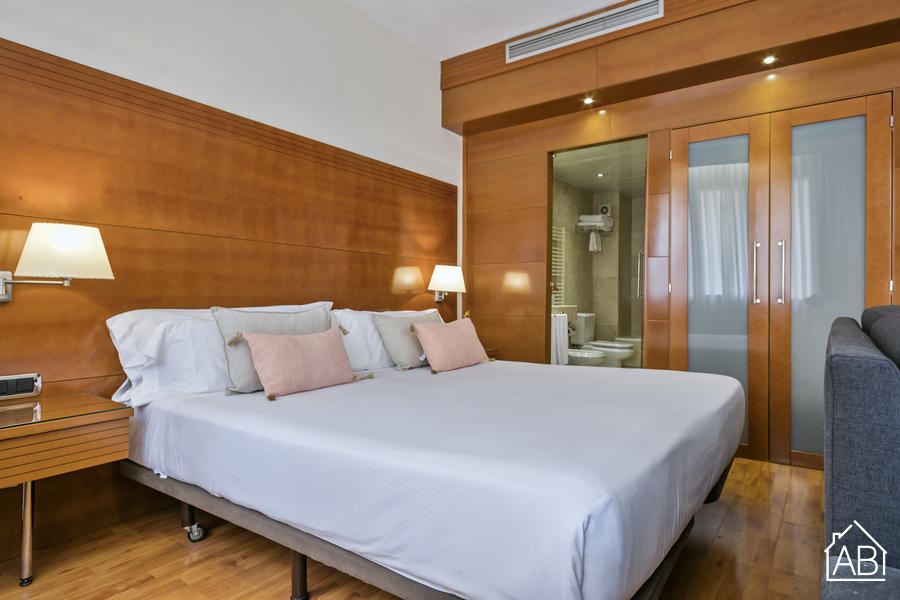 AB Mariano Cubi 201 - Stunning One-Bedroom Apartment with 24/7 Concierge in Gràcia - AB Apartment Barcelona