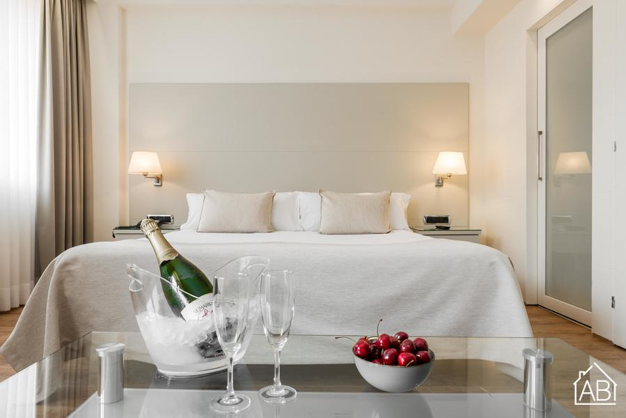 AB Mariano Cubi 204 - Stylish One-Bedroom Apartment with 24/7 Concierge in Gràcia - AB Apartment Barcelona