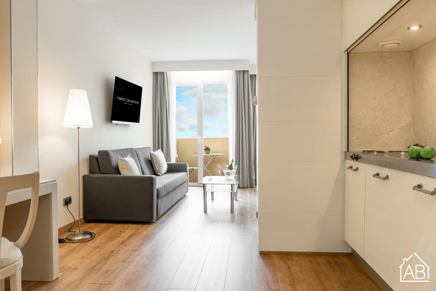AB Mariano Cubi 205 - Amazing One-Bedroom Apartment with 24/7 Concierge in Gràcia - AB Apartment Barcelona