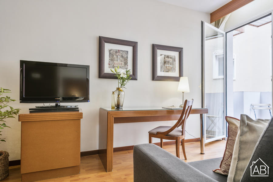 AB Mariano Cubi 310 - Amazing Apartment for Two-People with Private Terrace in Gràcia - AB Apartment Barcelona